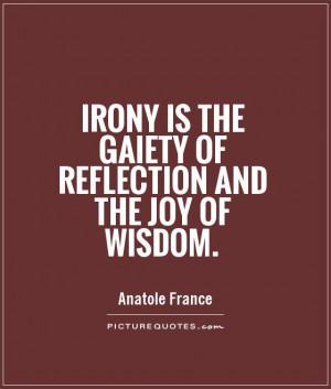 Irony Quotes
