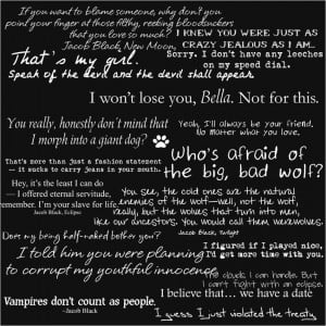 Jacob Black Quotes by Tonya-TJPhotography