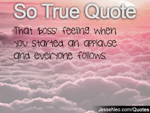 Boss Quotes That 'boss' feeling when you