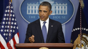 President Barack Obama speech on 'fiscal cliff' talks