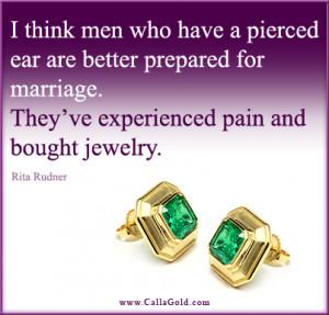 Gotta love Rita Rudner, she's so funny! This quote speaks for itself ...