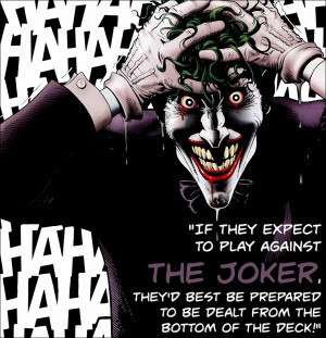 Batman: The Killing Joke by Alan Moore and Brian Bolland (1988)Quote ...