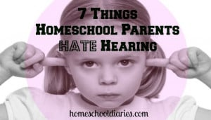 Things Homeschool Parents Hate Hearing - the woes of unsolicited ...