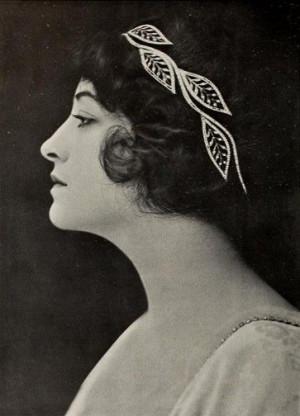Pauline Frederick, c. 1910.