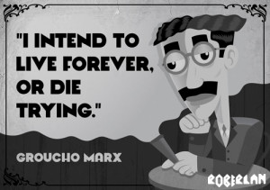 Groucho Marx Quote by roberlan