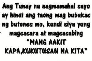 Pagmamahal quotes : tunay na nagmamahal tagalog love quotes