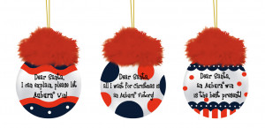 Auburn Tigers Team Sayings Tree Ornaments
