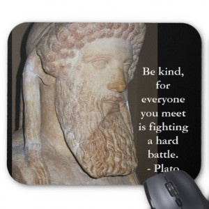 Plato Quotes Mouse Pads