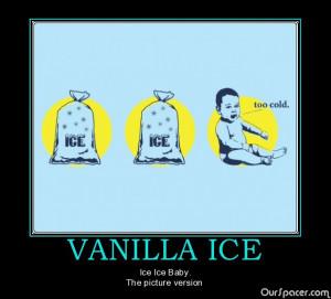 Vanilla Ice Ice Ice Baby