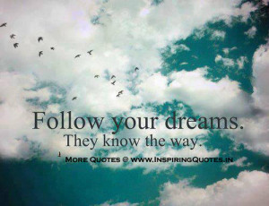 Thoughts about Dreams Inspirational Messages on Dreams, Quotes, Image ...