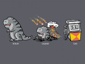 Funny photos funny dinosaur trex extinction gas