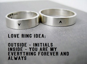 ... Ring, Love Ring, Promise Ring, Wedding Ring, Anniversary Ring, Stamped