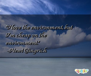 Famous Sayings Quotes From People Environment