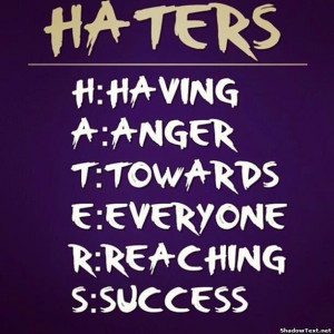 ChrissyStyles1 Haters gonna hate
