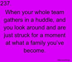 This is what being in a team is all about. More