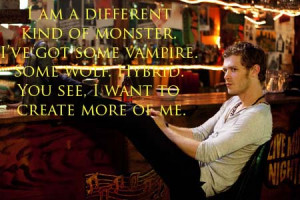 ... Unforgettable Klaus Mikaelson Quotes from The Vampire Diaries Season 3