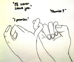 Tagged with love quote pinky promise