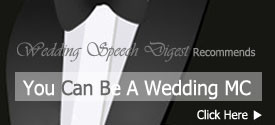 Master of Ceremonies and Wedding Speeches