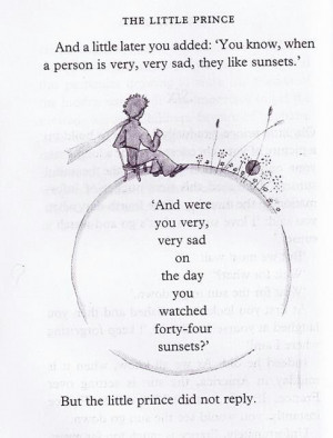 The little prince quote. I love this book, it's one of my favorites ...