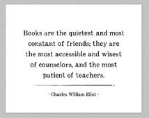 Reading Quote Print, Typography, In spirational Books ...