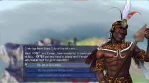 Shaka Zulu of the Africans