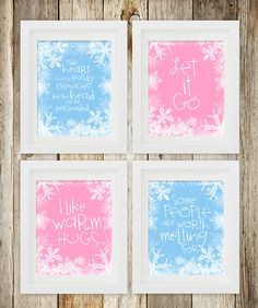 Free printable movie quotes from Disney's Frozen. Just get a frame ...