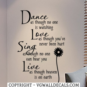 Teen Bedroom Wall Decals Quotes. Wall decals bedroom.