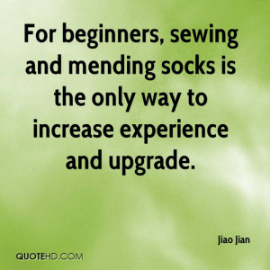 File Name : jiao-jian-quote-for-beginners-sewing-and-mending-socks-is ...