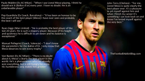 Lionel Messi Soccer Quotes