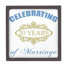 20 Years of Marriage Poem | Celebrating 20 Years Of Marriage Premium ...