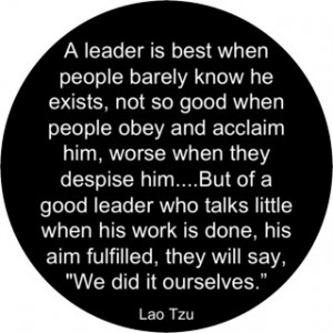 Lao Tzu on Leaders