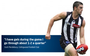 Energy Gels – why does Scott Pendlebury consume two gels a quarter?