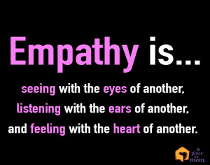 Empathy Quote A Place for Mom