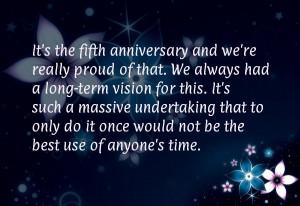 Company anniversary wishes