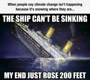 Climate Change Isn't Happening