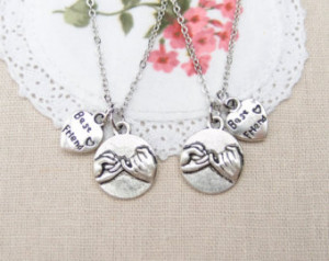 necklaces, Pinky Promise, Best Fr iend quote necklace, sisters ...
