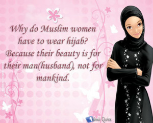 Why Muslim Women Wears Hijab?
