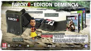 Far Cry 3 Edición Demencia. Pulsa la imagen para verla ampliada
