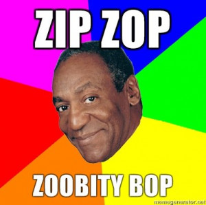 Bill Cosby. makes me wanna get a jello gelatin pudding pop. Bill cosby