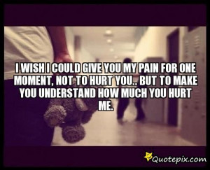 Displaying (17) Gallery Images For You Hurt Me Quotes...