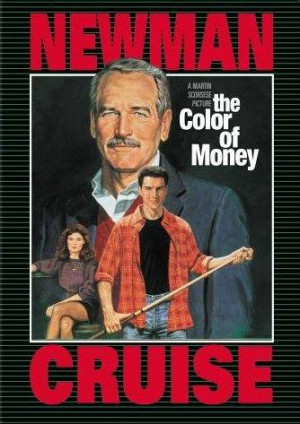 ... Felson (Paul Newman) in the motion picture The Color of Money (1986