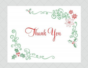Free christmas thank you ecards quotes