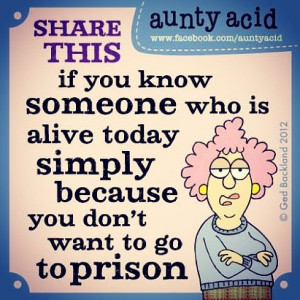don't want to go to prison!