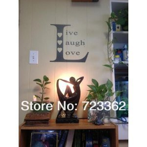 LIVE LAUGH LOVE SQUARE - Family Country Design - Vinyl Wall Room Decal ...