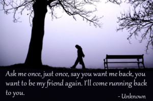 Sad Quotes That Make You Cry About Friendship Quotes on broken heart