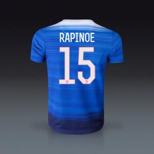 Megan Rapinoe USA Youth Away Jersey 2015