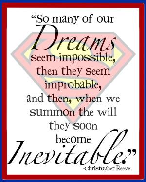 Superhero Quotes Inspirational Children art - superhero print
