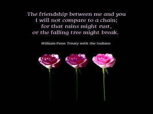 The Friendship Between Me And You…