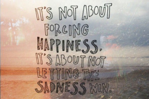 happines, inspirational, quote, sadness, sea, text