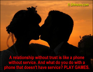 Quotes On Relationships And Trust a relationship without trust